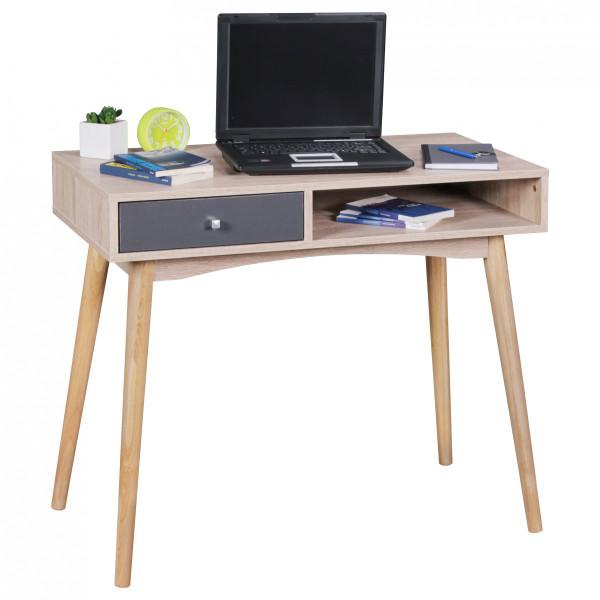 Retro Schreibtisch SAMO Sonoma / grau